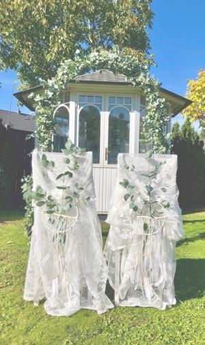 Freie Trauung Blumen Hochzeitsfloristik